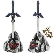 Zelda Hylian Link Letter Opener Master Sword & Stone Table Top Set