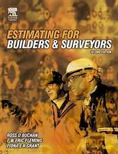 Estimating for Builders and Surveyors, Grant, Fiona Paperback Book
