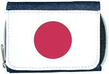 Japan Flag Denim Wallet