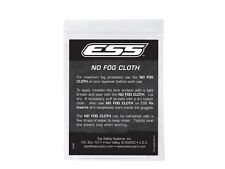 ESS BALLISTIC ANTI FOG CLOTH -REUSABLE- NEW - ARMY ISSUE - LENSE PROTECTION