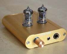 Little bear P2-1 GOLD HiFi Vacuum valve tube headphone amplifier amp preamp uk