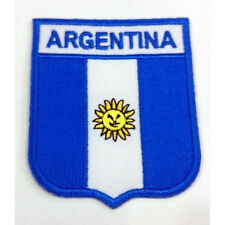 Argentina Nation Country Flag Embroidered Sew/Iron On Patch Patches