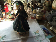 Enesco 1995 Mattel Barbie Scarlett O' Hara Doll Figurine Music Box