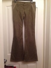 JUICY COUTURE JEANS Brown Corduroy Flare Jeans Size 27