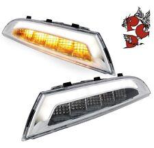 LED FRONTBLINKER + LIGHTBAR STANDLICHT VW SCIROCCO 137 08-14 chrom KGV08 carDNA