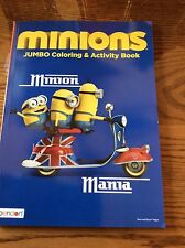 Despicable Me  MINIONS Jumbo Coloring and Activity Book  CUTE!