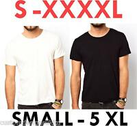 PLAIN FRUIT OF THE LOOM T SHIRT S - XXXXXL SMALL TO 5XL ! Free fast post