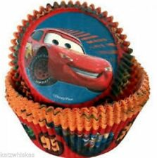 Disney Cars Cupcake/Cup Cake/Muffin Cases (50 cases)