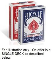 Invisible Deck - Bicycle - magic trick - gimmick - gaff - free 1st class postage