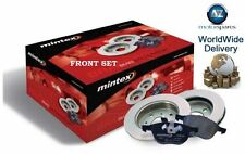 FOR CITROEN DS3 1.6 HDI 110BHP 2009--  FRONT BRAKE DISCS SET + DISC PADS KIT