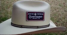 RARE VINTAGE COPENHAGEN SNUFF LOGO CLOTH PATCH ADHESIVE BACK