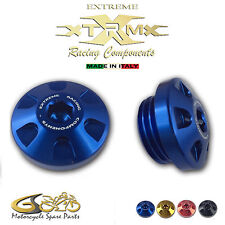 Tappo Olio Motore in Ergal EXTREME, Oil Cap, Yamaha YZF R1 (1998-2015) Blu