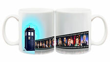 Juko Doctor Who Mug Film Strip 12 Doctors Coffee Cup
