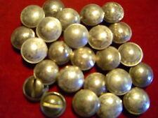 CONCHOS: 20 Mexican Nickle Silver 10 Centavos w/ post & screw