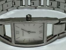 DKNY NY3143 WR30M Silver Tone Women's Watch For Repair/ Parts (#2139)