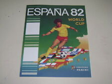 PANINI WORLD CUP SPAIN  82 - OFFICIAL ALBUM REPRINTED  - 100% complete!
