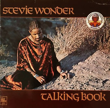 STEVIE WONDER - Talking Book (LP) (VG-/G)