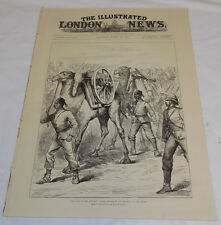 3/29/1884 Issue ILLUSTRATED LONDON NEWS//War in Sudan//Hunting in Ireland