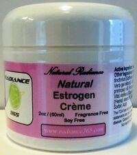 Natural Estriol Estrogen Cream 2oz Jar Radiance365 Women