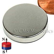 "N42 Neodymium Magnets Dia 1x3/16"" NdFeB Disk Magnets 50-Count"