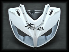 ABS Injection Upper Fairing Nose For Yamaha 2006-12 FZ1/S FAZER1000 Glossy White