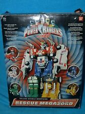 Power Rangers turbo rescue megazord boxed missing guns