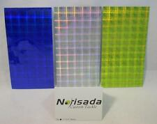 Norisada Plaid Chartreuse Blue Silver Fishing Lure Tape Dodgers Spoons Spinners