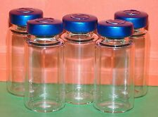 5 x Clear 10 ml depyrogenated and sterile vials vial.(UK Stock) Mix HCG Etc