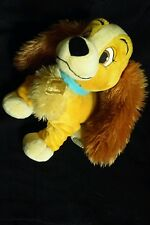 Disney Store Authentic Lady and the Tramp Lady Stuffed Plush Dog 13""