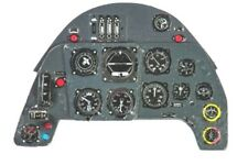 MESSERSCHMITT Bf 109 G PHOTOETCHED, 3D, COLORED INSTRUMENT PANEL #4821 1/48 YAHU