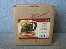 New Wild Wings Terry Redlin Best Friends Sculpted Mug Cup Rare Discontinued