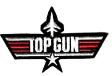 TOPGUN TOP GUN MOVIE USN F-14 TOMCAT MOVIE BADGE