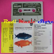 MC ANTONELLO VENDITTI SOTTO IL SEGNO DEI PESCI 1973 PHILIPS ITALY no cd lp dvd *