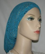 Head Covering Headcovering Elastic Band Crochet Look Hair Snood Snoods Veil Hat