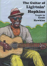 The Guitar of Lightnin' Hopkins Texas Blues Tuition DVD Learn How To Play