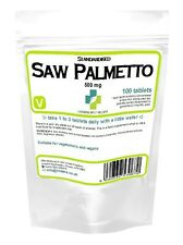 Saw Palmetto 500mg Lindens 100 Tablets Mens health Prostate