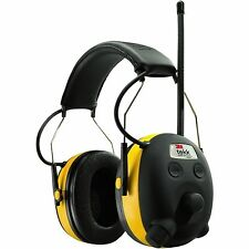 NEW 3M 90541 PELTOR WORKTUNES AM/FM/MP3 DIGITAL EARMUFFS HEADSET HEADPHONES
