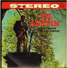 """SIL AUSTIN """"PLAY PRETTY FOR PEOPLE"""" SAX JAZZ 60'S EP PHILIPS SM-3003 JAPON !"""