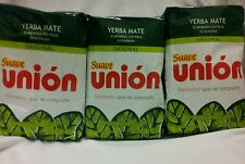 YERBA MATE UNION SUAVE 3 pack of 1kg each