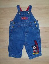 """☆Toddler☆""""Disney"""" Mickey Mouse Jean Coveralls☆Sz. 3-6 mos ~ So Cute!!!☆"""