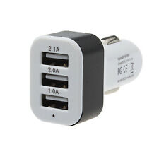 Car Charger 12V 24V To 5V 3Port USB Charger Adapter For Samsung Smartphone GPS