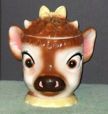 VINTAGE HARD TO FIND BEULAH THE CALF COOKIE JAR BY METLOX***MINT CONDITION***