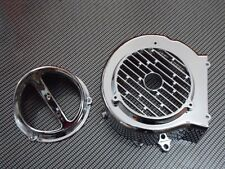 SCOOTER 150CC 125CC GY6 CHROME FAN COVER AND CHROME CAP COMBO