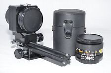 Spiratone Bellow Scope with Spiratone 20mm f/2.8 Lens with Case