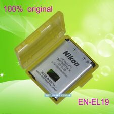 Genuine original EN-EL19 ENEL19 Battery for Nikon Coolpix  S3100 S4100 S2500