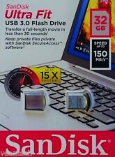 Sandisk Ultra Fit 32GB USB 3.0 USB Stick 150MB/S Flash-Laufwerk SDCZ43-032G-G46
