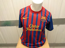 VINTAGE NIKE FC BARCELONA MAMEY #9 SEWN MEDIUM DRI-FIT JERSEY 2011/2012 KIT