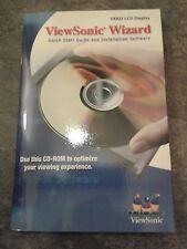 Viewsonic asistente guía de inicio rápido/instalación de software