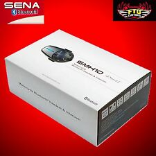 SENA SMH10D-10 Motorcycle Bluetooth Headset and Intercom Dual Kit