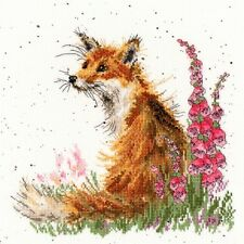 Bothy Threads Amongst The Foxgloves Counted Cross Stitch Kit